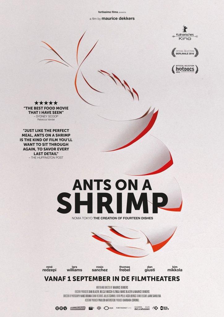Filmposter Ants on a shrimp