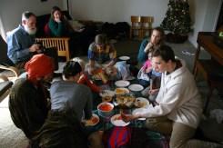 Shepherd's meal, post nativity