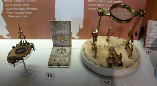 Make sure to cut through the gift shop in order to visit the Time and Society exhibit where there is a high concentration of clockwork devices