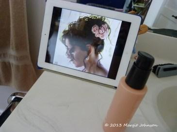 Wedding hair, phoebedecook.com