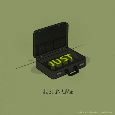 witty-illustrations-by-nabhan-abdullatif-visual-puns-with-everyday-objects-9
