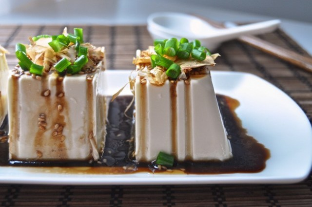 和食豆腐おかず冷奴レシピ