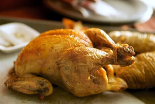 ごま油鶏の丸焼きレシピ