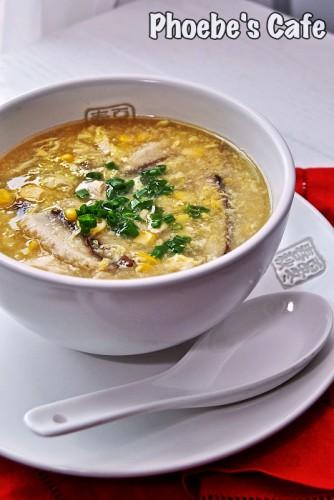 중국 옥수수 스프 옥미갱 레시피