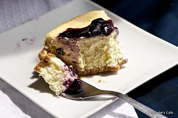 뉴욕 스타일 블루베리 치즈케익 레시피