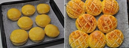 홍콩 파인애플 빵 만들기