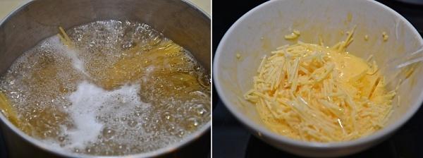 スパゲッティカルボナーラの作り方