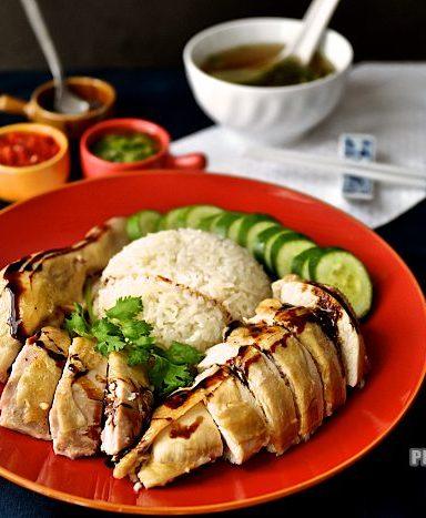 싱가폴 국민 음식, 하이난 치킨 라이스