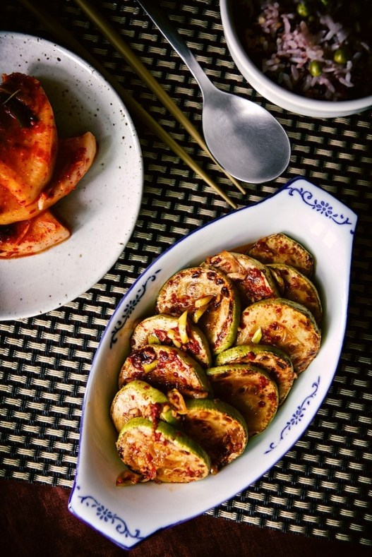 korean zucchini salad recipe