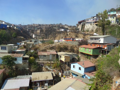 Valparaiso: the contrast between what is and is not.