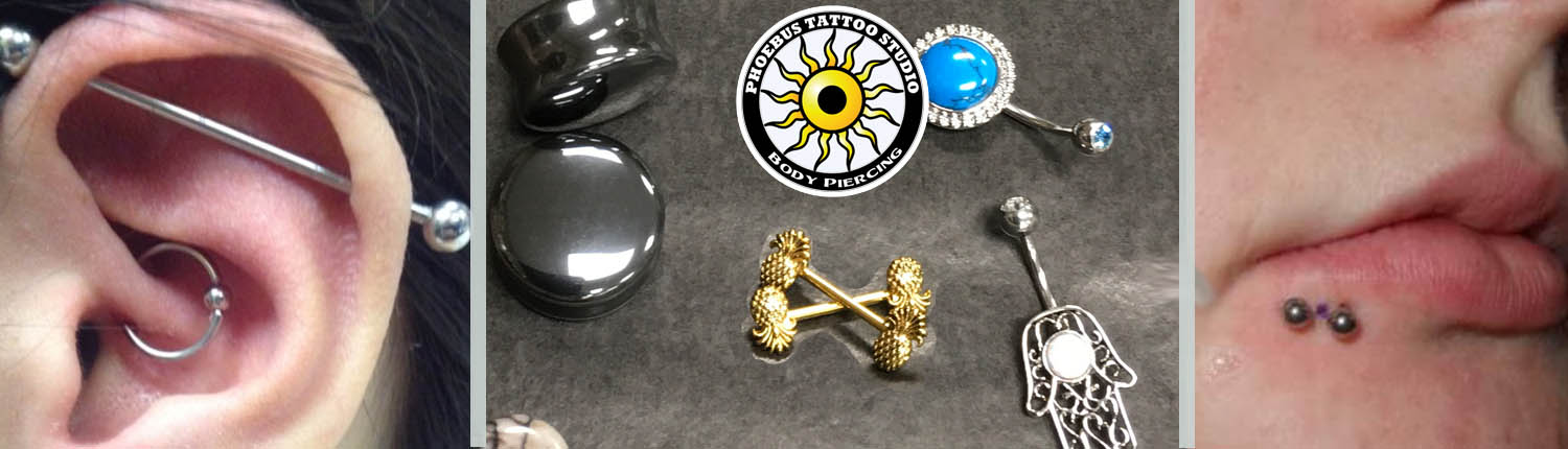 Body Piercing services Ears, noses, all safe piercings apply and Body jewlery for sale