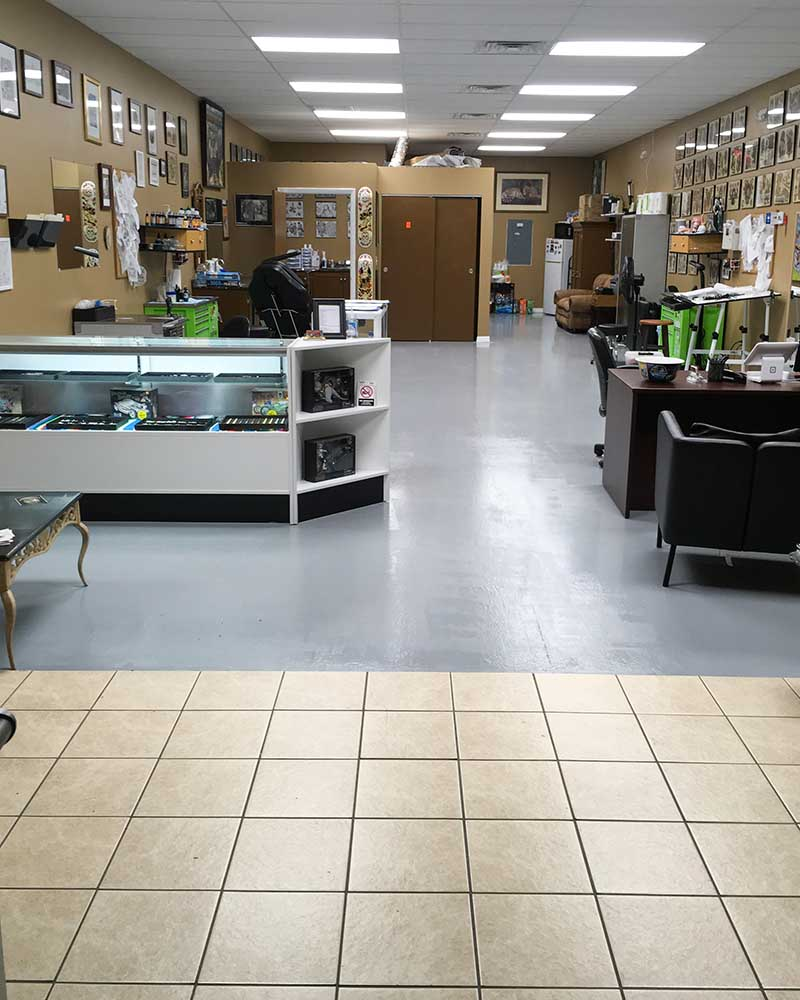 Phoebus Tattoo Studio Space Body Piercings Tampabay area
