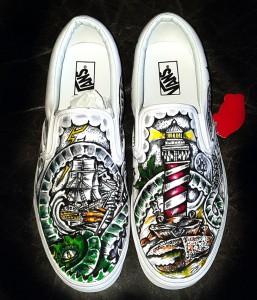 Vans Shoes Kraken