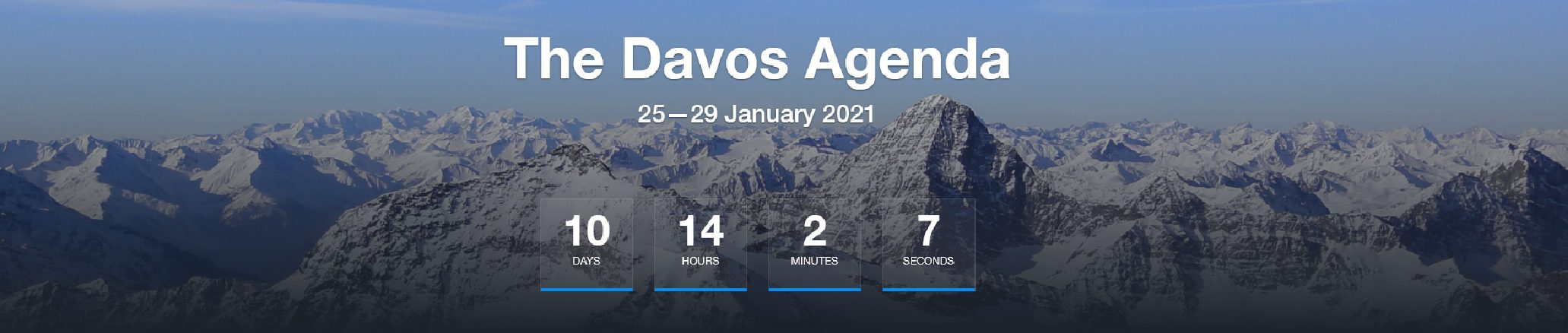 World-Economic-Forum DAVOS 2021