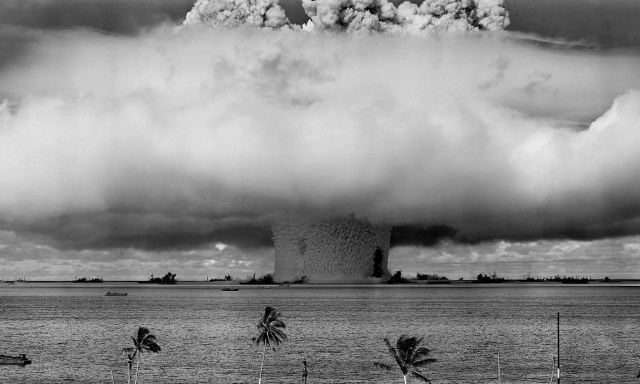 Image of a nuclear weapon explosion