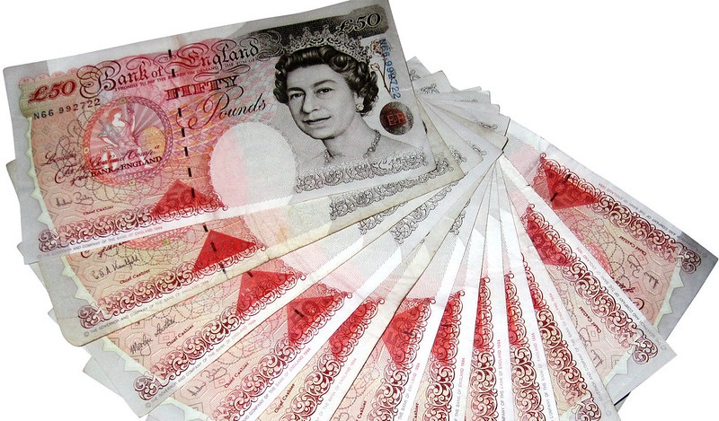 50 pound bank notes