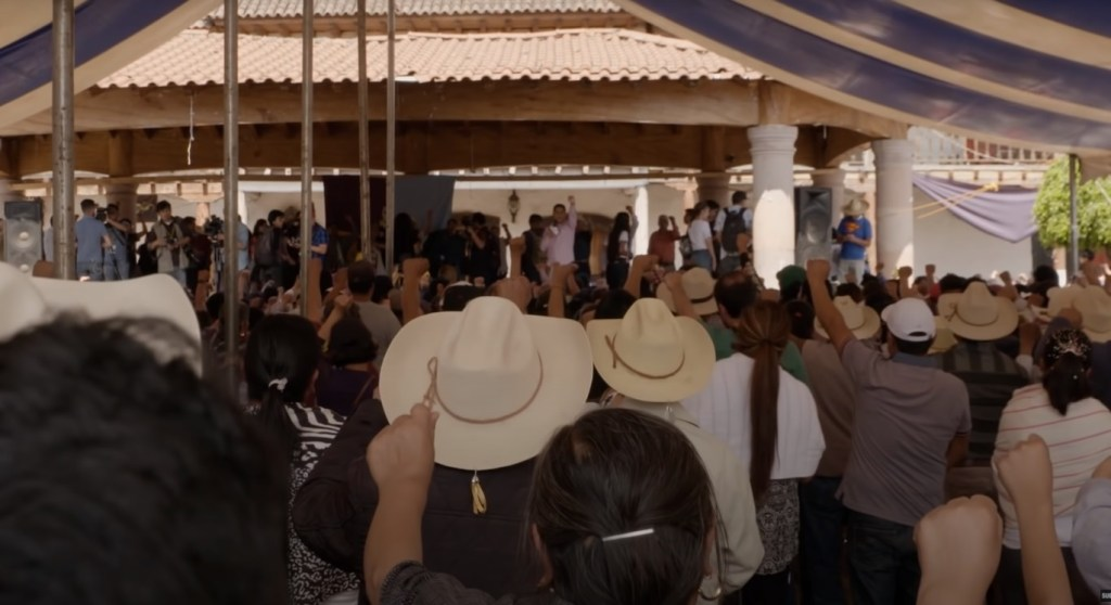 People in Cherán, Michoacán