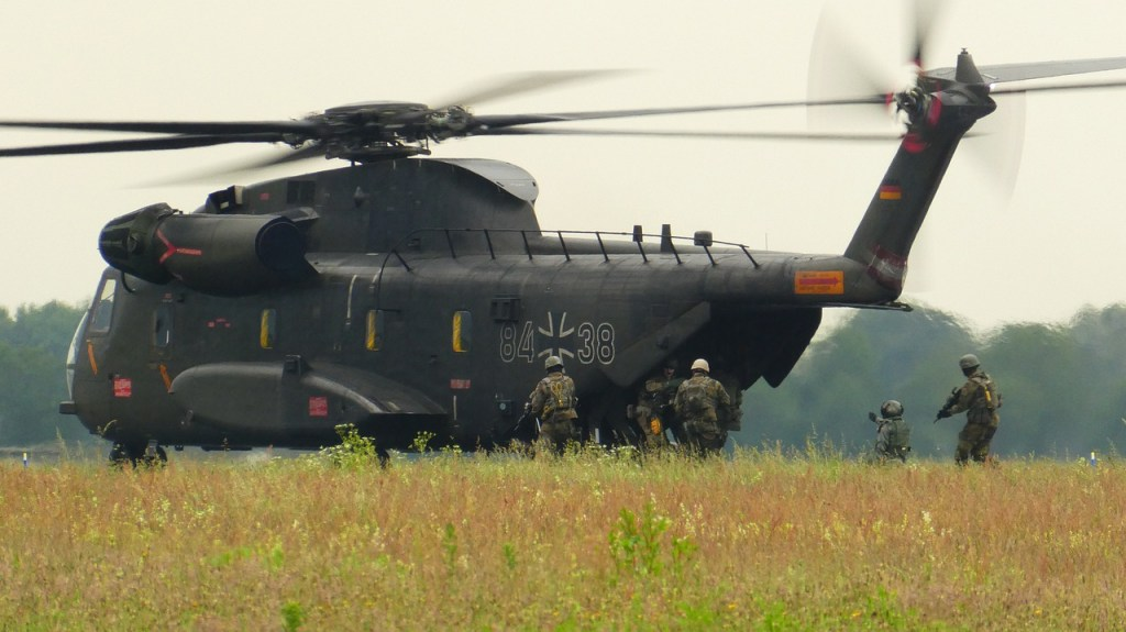 German army helicopter