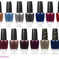 OPI San Francisco Fall / Winter 2013 Collection Preview
