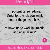 Important career advice