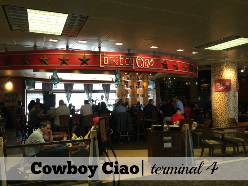 10 Best Sky Harbor Airport Restaurants: Cowboy Ciao