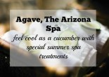 Summer Special Spa Treatments at Agave