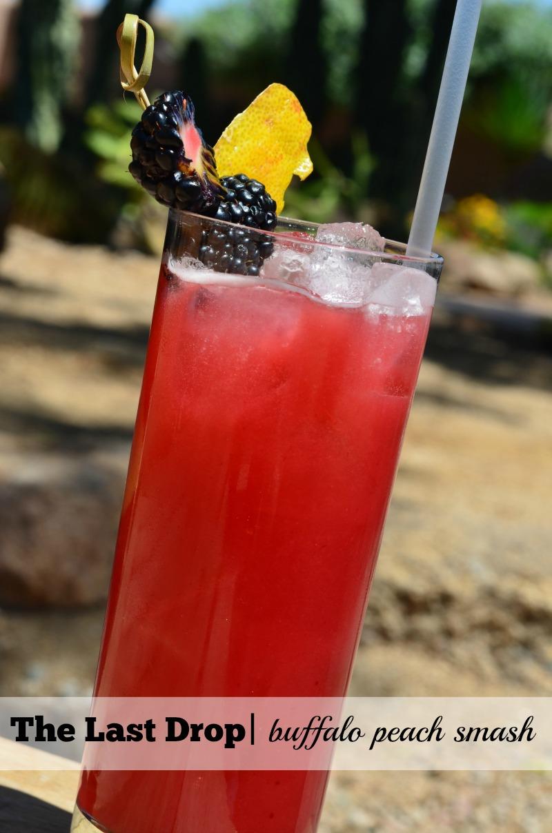 7 best bourbon drinks in scottsdale_The Last Drop_Buffalo Peach Smash
