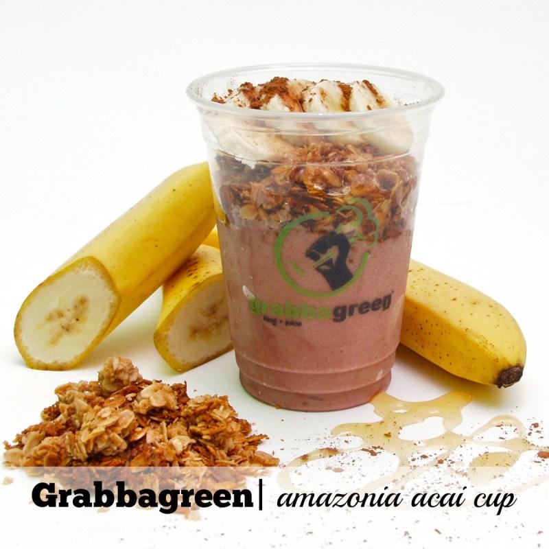 Acai Bowls Scottsdale: Grabbagreen Amazonia Acai Cup