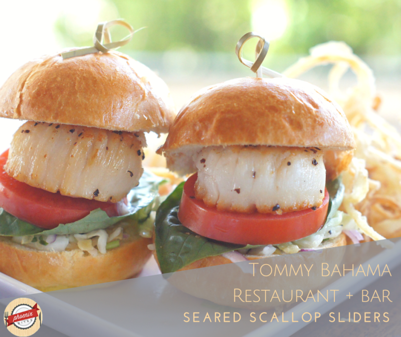 7 of the Best Restaurants in Scottsdale for Dude Food_Tommy Bahama_Seared Scallop Sliders