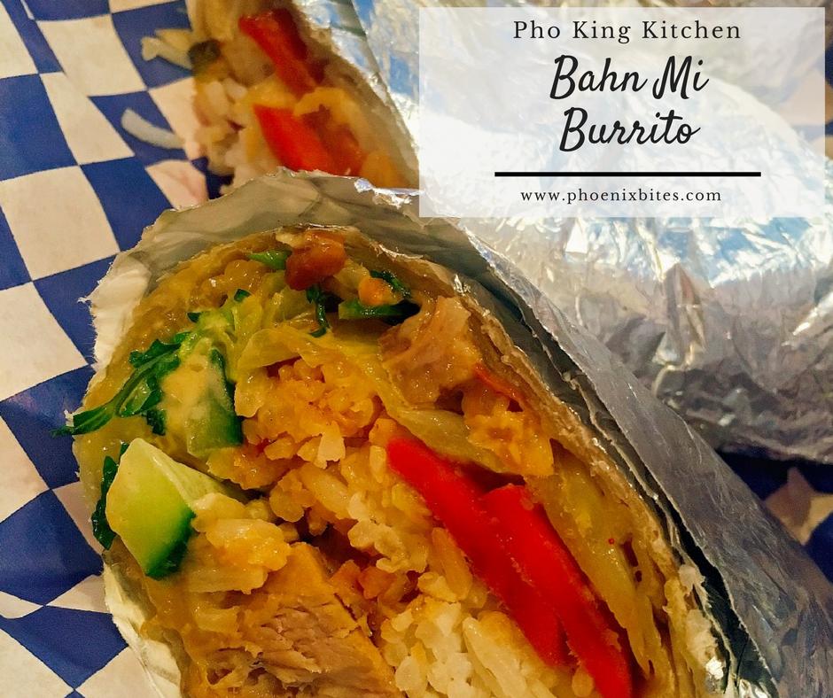 Pho King Kitchen Bahn Mi Burrito