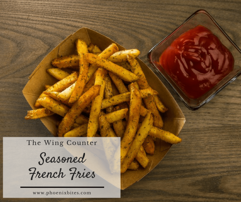 The Wing Counter_Seasoned French Fries
