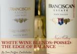 White wine blends: Poised the edge of balance