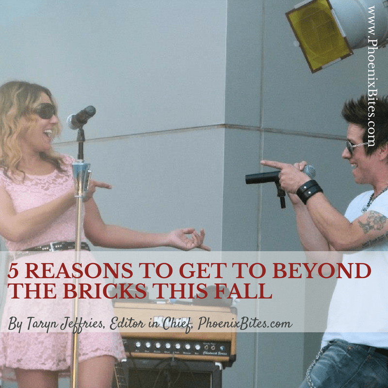 5 Reasons to Get to Beyond the Bricks This Fall
