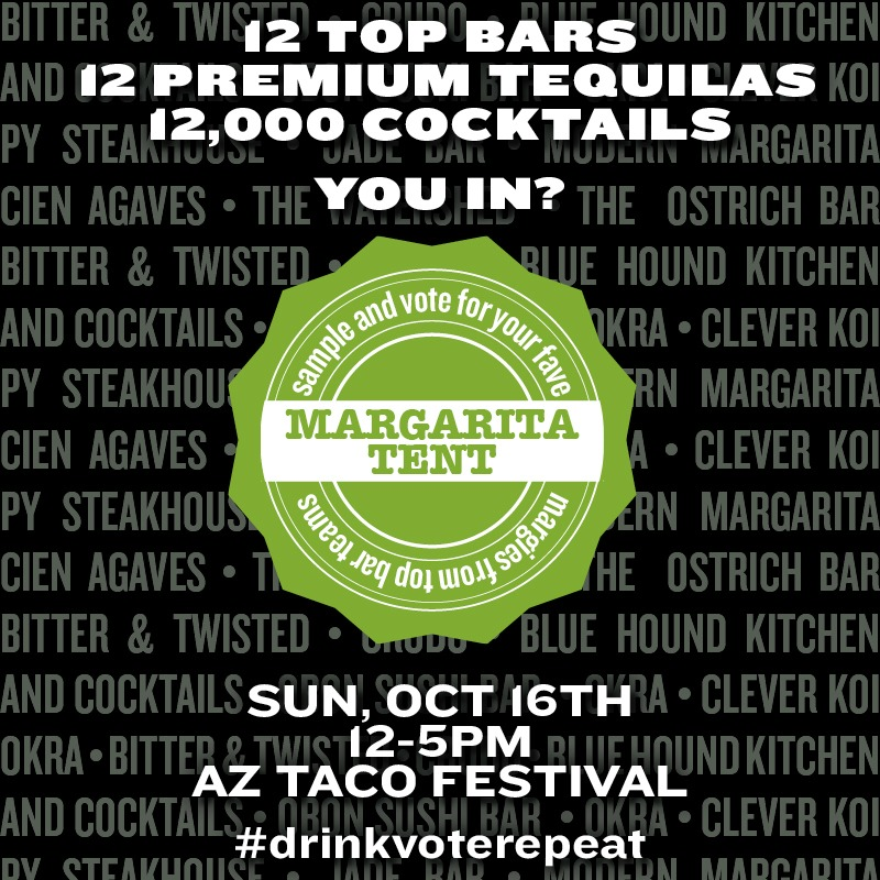 New Margarita Expo Tent at the Arizona Taco Festival
