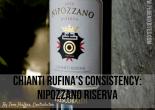 Chianti Rufina's consistency: Nipozzano Riserva