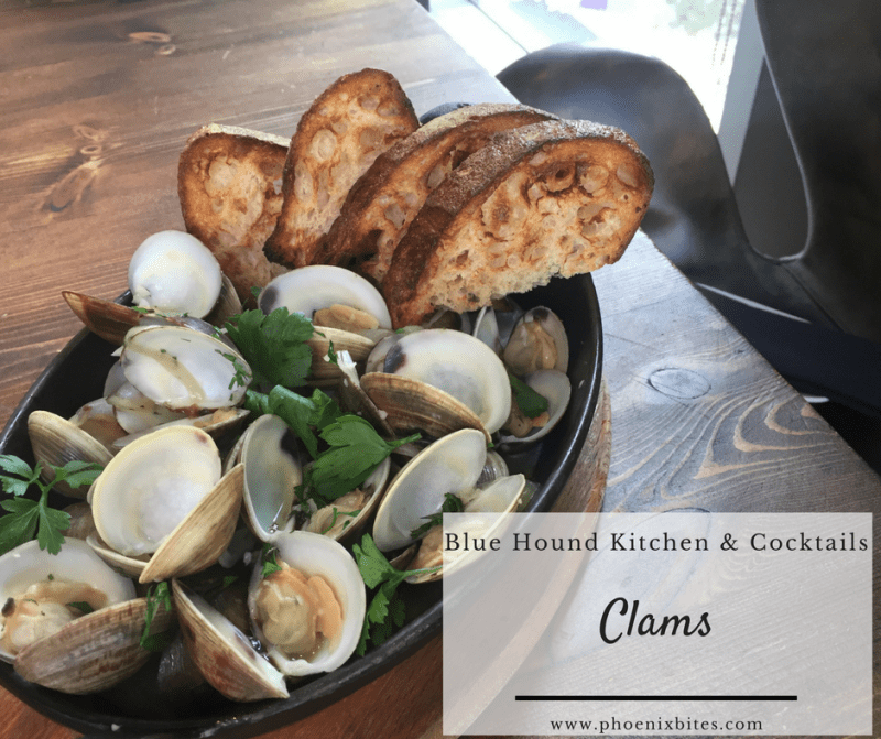 Revamped Classics on Winter Menu at Blue Hound Kitchen_Clams