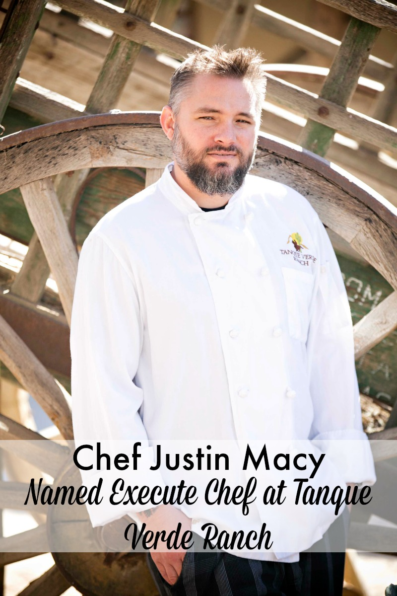 Chef Justin Macy named executive chef at tanque verde ranch