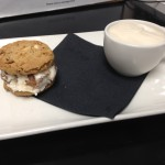 Del Friscos - Rum Raisin Ice Cream Sandwich