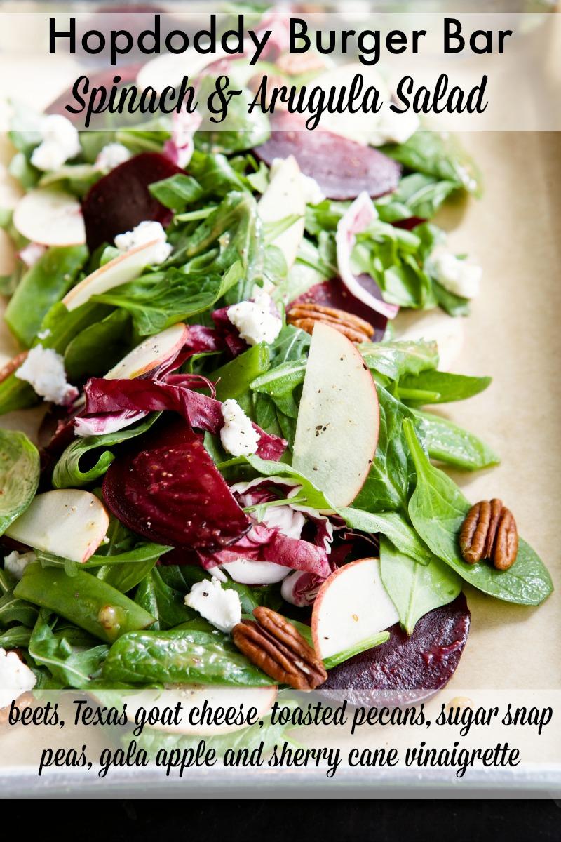 Hopdoddy Burger Bar Spinach & Arugula Salad