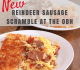 Reindeer Sausage Scramble at the OBH