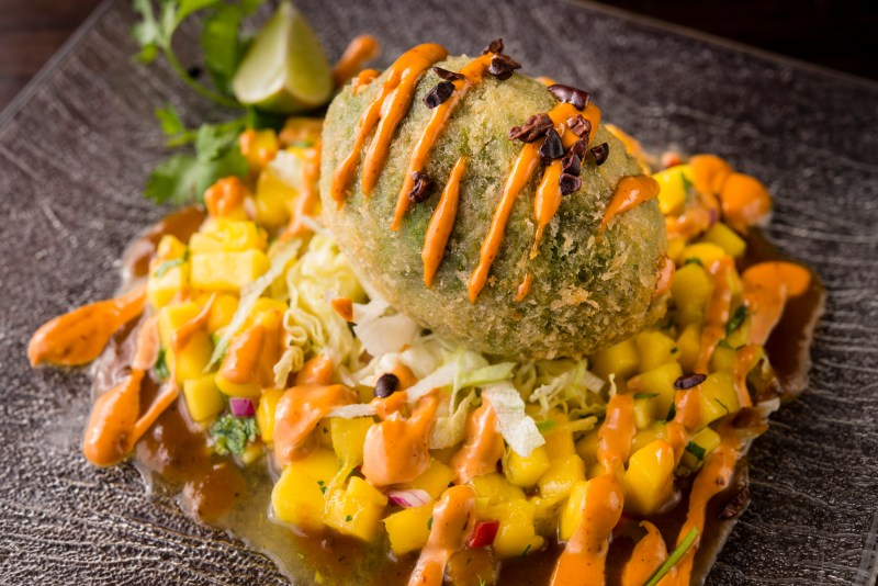SOL Cocina's Winter Menu Warms Up Scottsdale: Crab Stuffed Deep Fried Avocado