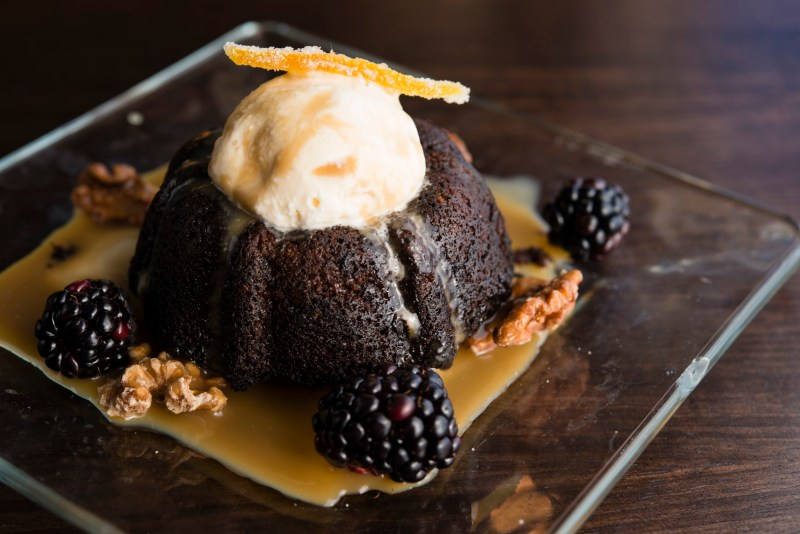 SOL Cocina's Winter Menu Warms Up Scottsdale: Toffee Date Cake