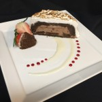 Sushi Roku Thin Mint Chocolate Mousse Dome