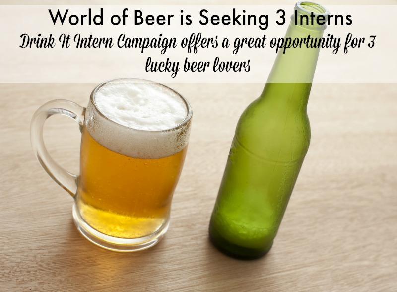 Do You Have What It Takes To Be A Drink It Intern