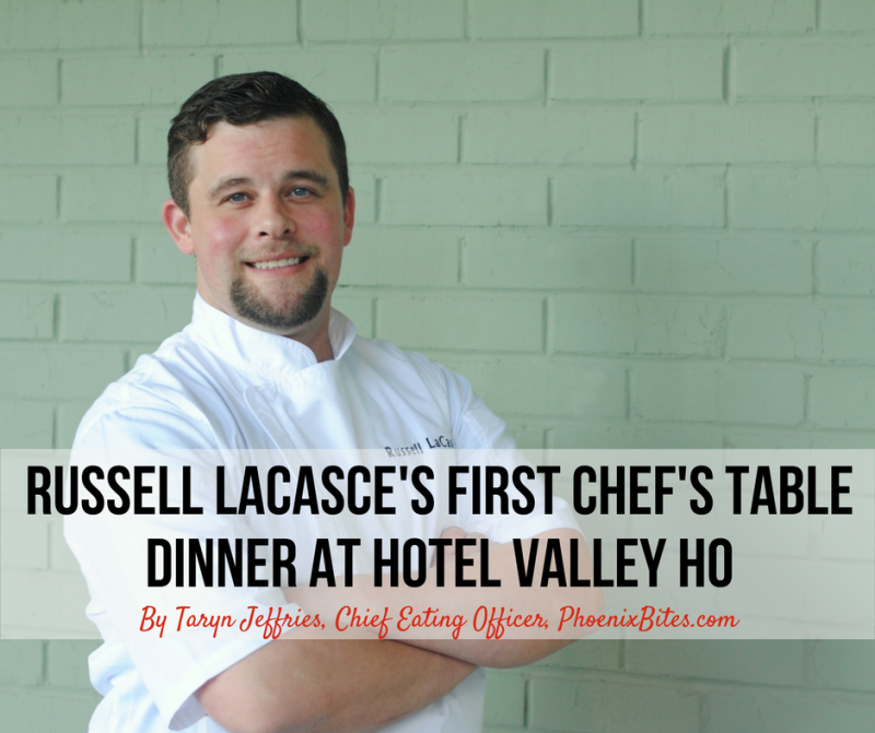 Hotel Valley Ho's Executive Chef Russell LaCasce