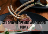 STK Denver Opening Announced Today