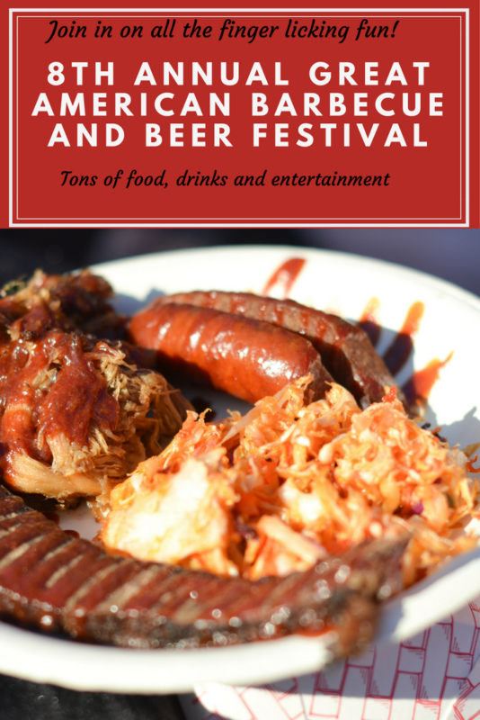 8TH ANNUAL GREAT AMERICAN BARBECUE AND BEER FESTIVAL