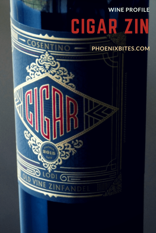 "Cigar Zin- Put Your Nose in a ""Stovepipe"""