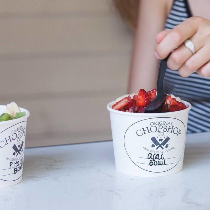 The Original ChopShop acai bowls