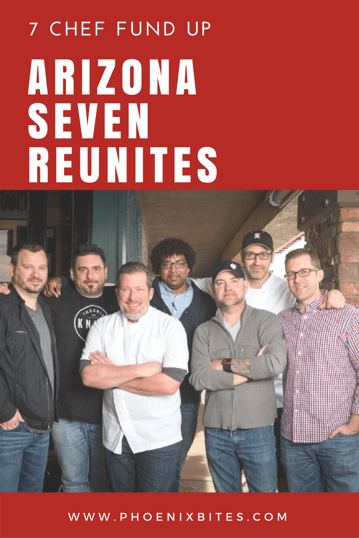 Arizona Seven Reunite for 7 Chef Fund Up